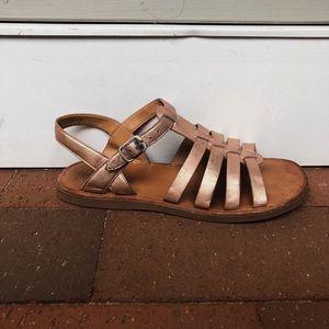 52101eb257cb Pom D Api Shoes - Girls Pom D Api Rose Gold Sandals